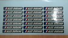 20 Stickers Autocollants nom texte personnalisé et drapeau / vélo cadre course