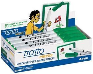 FILA-TRATTO-MEMO-854004-VERDE-CONFEZIONE-12-PEZZI-MARCATORE-LAVAGNE-BIANCHE