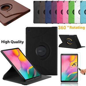 Samsung-Galaxy-Tab-A-10-1-2019-Leather-Protective-Folio-360-Rotate-Case-Cover