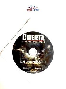 Omerta-City-Of-Gangsters-Digital-Press-Kit-Disque-Eur-PC-Scelle-Scelle-Nouveau