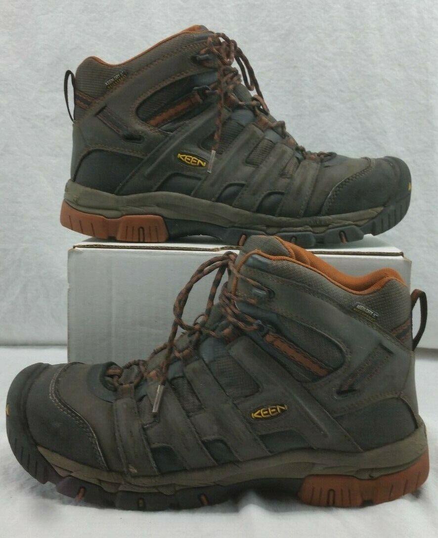 Keen 1014611 para hombre Omaha Puntera De Acero Impermeable EH botas De Trabajo D