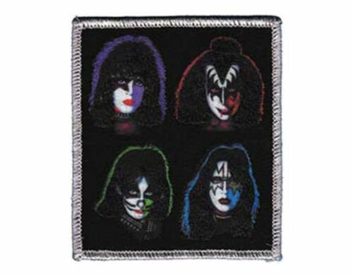 KISS Patch Toppa Faces OFFICIAL MERCHANDISE