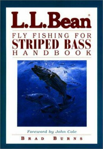 L.L. Bean Fly Fishing for Striped Bass Handbook-ExLibrary