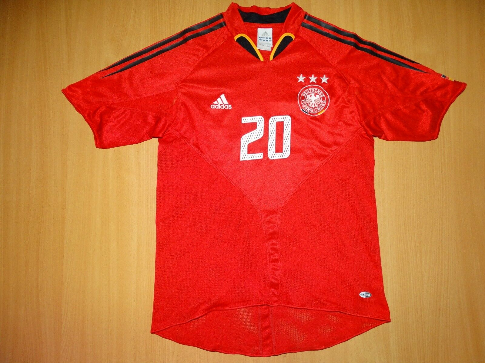 RARE GERMANY Deutschland  20 PODOLSKI 2006 AWAY shirt trikot ADIDAS  FOOTBALL M  | Online Shop
