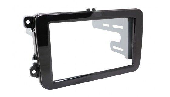 Skoda Superb 2 Yeti 1 5L Car Radio Panel Installation Frame Double Din 2-DIN