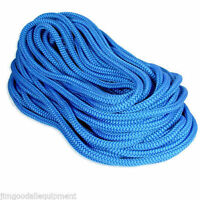 Tree Climbing Line 600' Samson True Blue,7300 Lb,12 Strand Rope,1/2x 600'