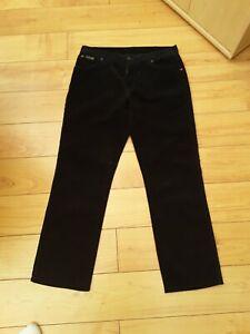 limitierte Anzahl beispiellos ungeschlagen x Details about Wrangler Texas stretch cord Jean's w36 l32 black