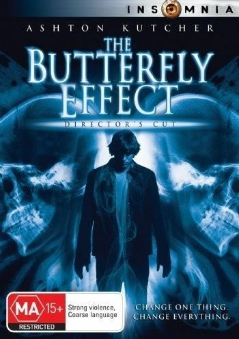 1 of 1 - THE BUTTERFLY EFFECT Ashton Kutcher Amy Smart DVD R4 PAL