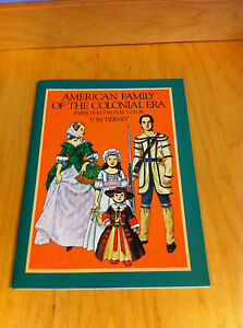 Paper Dolls - 1983 American Family of the Colonial Era -Full Color, Tom Tierney*