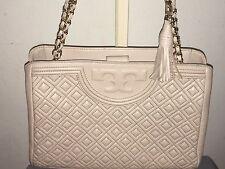 Tory Burch Fleming Shoulder Tote Bedrock Handbag