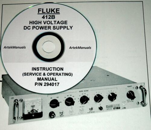 Business & Industrial FLUKE 412B Power Supply Operating & Service ...