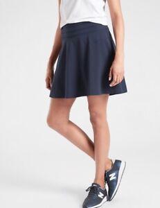 ATHLETA-Navy-All-Day-Skort-4-Skirt-with-Built-in-Shorts