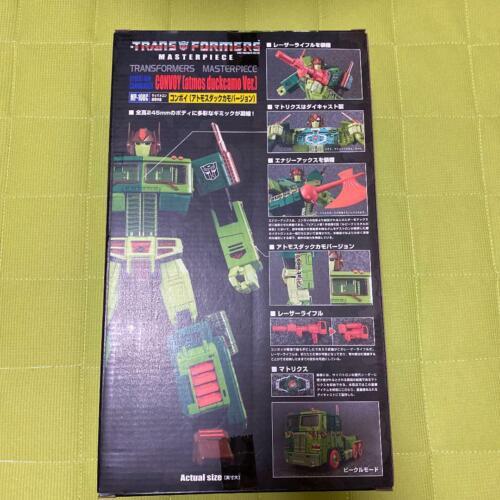 Takara TOMY Transformers Materpiece MP-10Convoy Atmos Duck Camo