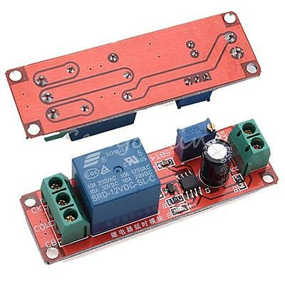 NE555 Delay Timer Relay Switch Module Adjustable 0 to 10 Second Inpute DC 12V