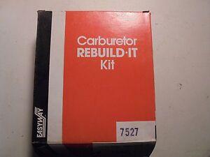 Vintage-Easyway-Carburetor-Rebuild-It-Kit-7527-Rochester-Model-210-M2MG-M2ME