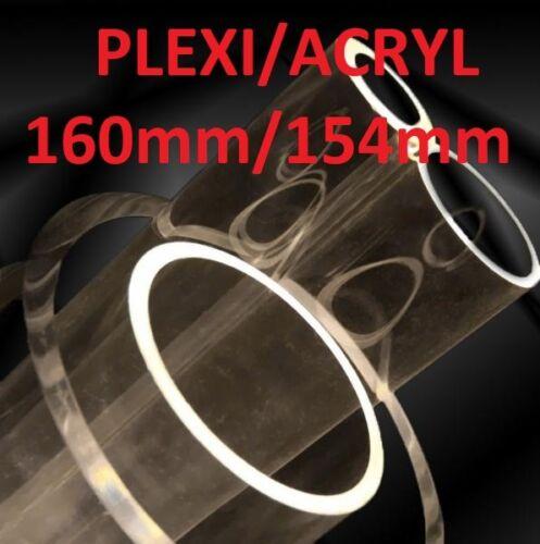 ACRYL//PLEXI ROHRE 160mm//154mm