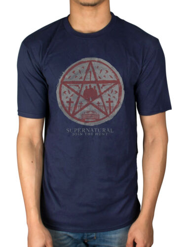 Official Supernatural Join The The Hunt T-Shirt War Of The Worlds The Big Empty