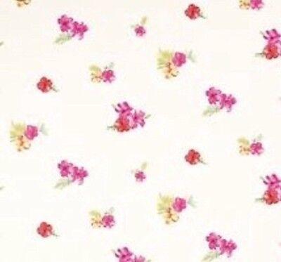 Laura Ashley Kids Wallpaper Tropical Flowers X 3 Rolls Same Batch Discontinued Ebay