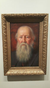 JOSEPH B KAHILL OIL PAINTING ON PANEL PORTRAIT AMERICAN MAINE to $3,163 auction