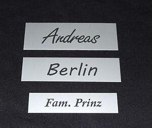Klingelschild-Briefkastenschild-Tuerschild-Namensschild-Aluminium-Schild