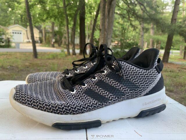 Size 8 - adidas Cloudfoam Racer TR Black White