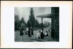 The-Dog-Seller-I-Spiridon-1880-039-s-excellent-photogravure-print