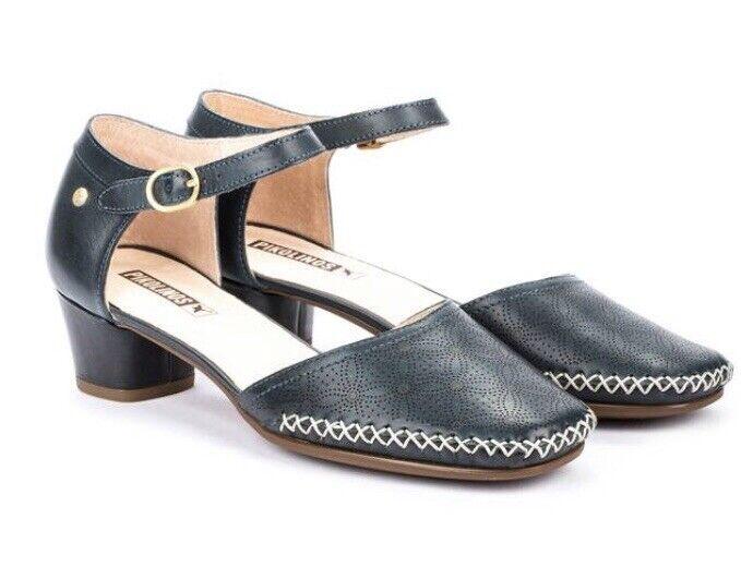 Pikolinos Gomera Sandals W6R  -511, Ocean Navy blu Leather, Brand New, 37  acquistare ora