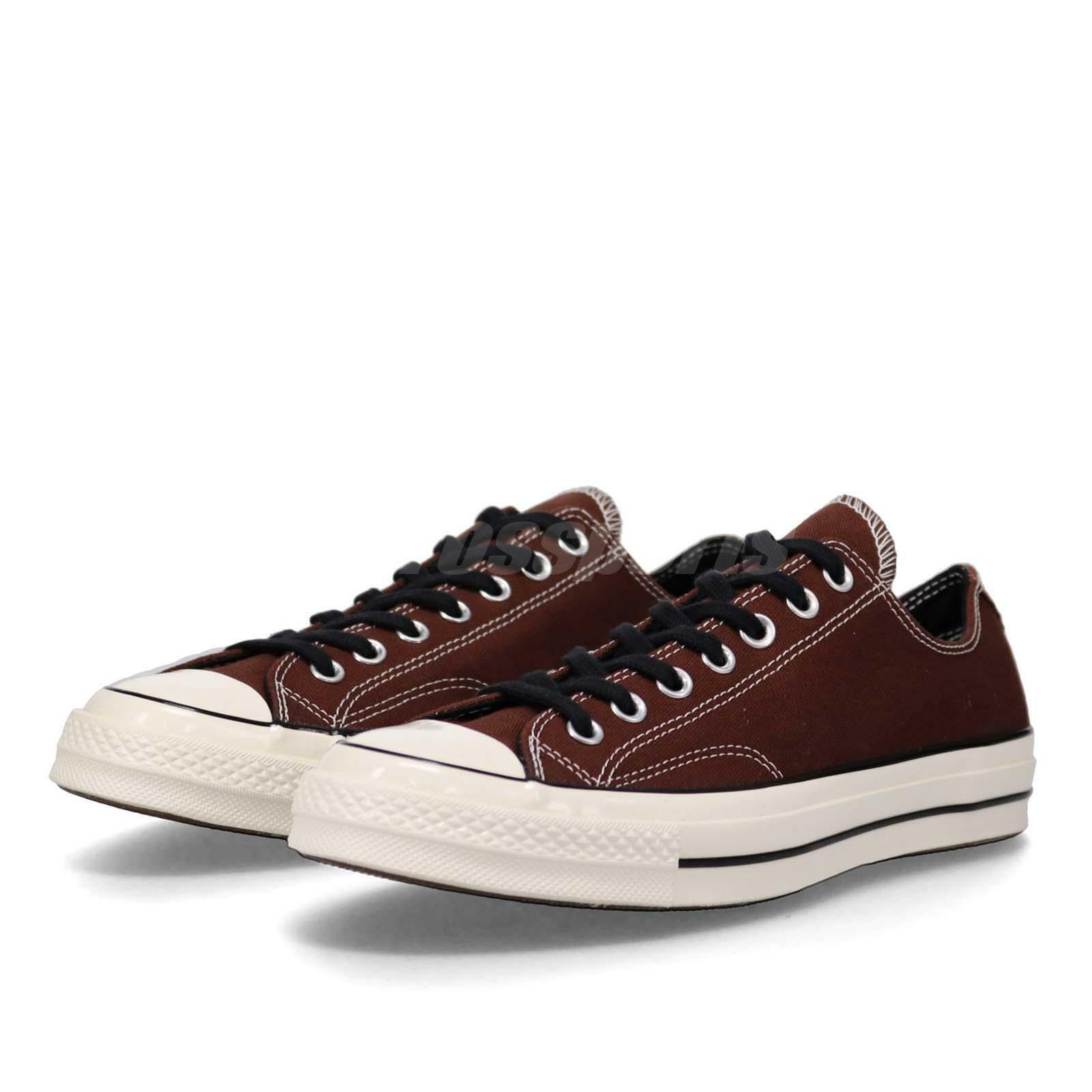 Converse First String Chuck Taylor All Star 70 OX marron hommes femmes chaussures 163334C