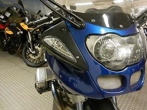 Weisse-LED-Front-Blinker-mit-Standlicht-BMW-R-1100-S-clear-signals-indicators