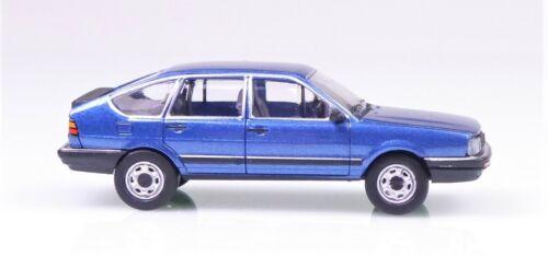 H0 BREKINA PCX87 Volkswagen Passat GLS metallicblau Premium ClassiXXs # 870079