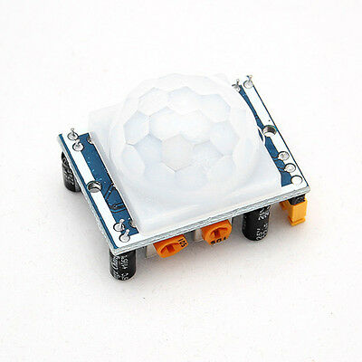 Adjust IR Pyroelectric Infrared IR PIR Motion Sensor Detector Module HC-SR501 JU