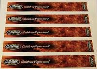 0961 Vinyl Hd Arrow Wraps Ma-firearrow ( Catch Us If) 1 Wide 7 Long (12 Pack)