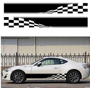 2x Mud Splash 4WD Auto Graphic Decal Vinyl Car Body Racing Stripe Sticker