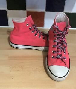 3320e53d545d CONVERSE ALL STAR TRAINERS YOUTH GIRLS SIZE UK 2.5 EU 35 314062 Pink ...