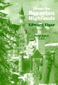 Contemporary Elgar Bavarian Highlands Op27 Satb Williams/elgar