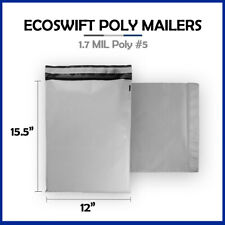 1 0 6x10 Ecoswift Brand Poly Bubble Mailers Padded Shipping Envelope 6 X 10