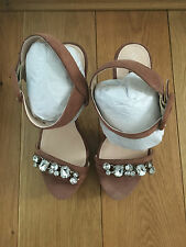 Next - MINK Sandals - Size 7 - Brand New!