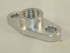 "1/4"" NPT Oil Drain Flange for T3/T4- US MADE"