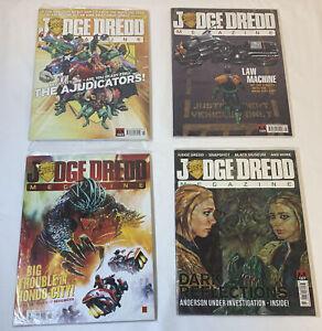 Lote-de-Cuatro-Sellado-Revistas-Judge-Dredd-Revista-323-325-326-327