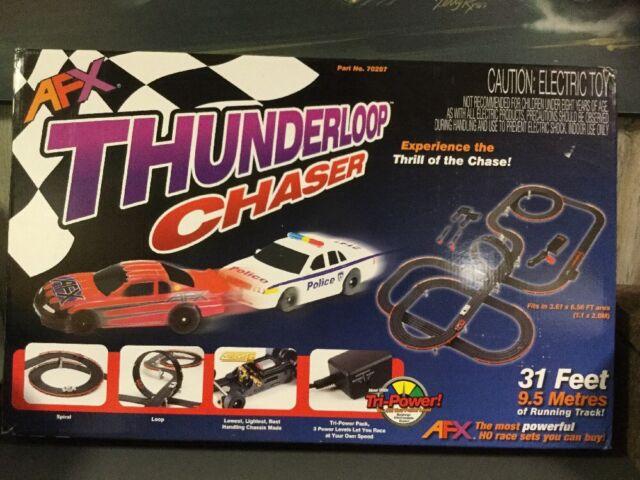Buy AFX 70287 Thunderloop Chaser Ready to Run HO Slot Car Set online ... ee30dcaba0d9