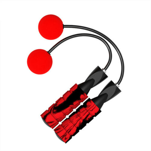 Exercise Gym Training Weighted Adjustable Jump Rope Ropeless Cordless Skipping