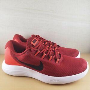 9f2b59dbc2e Nike Lunarconverge Men s Running Shoes Dark Cayenne Red 852462-600 ...