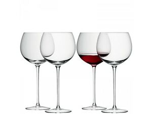 Image Is Loading Lsa Wine Balloon Gl Clear Set Of