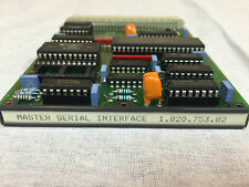 Studer A812 A827 A816 A820 D820 Master Serial Interface 1.820.753.82