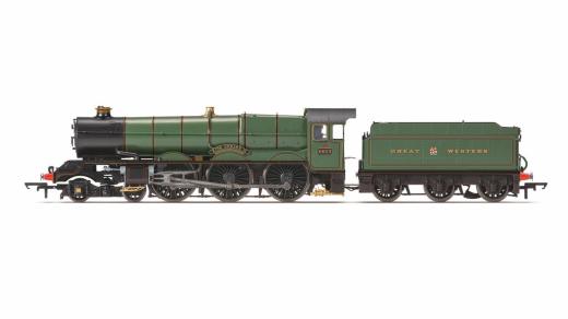 Hornby R3534 King Class 4-6-0 King Edward II No: 6023 GWR verde OO Gauge
