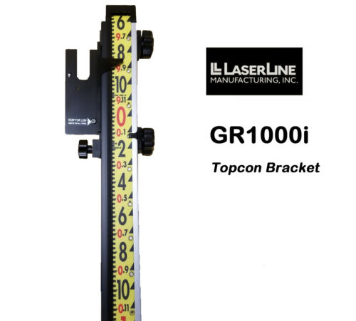 LaserLine Lenker Rod 10 Foot Inches with Topcon Mount