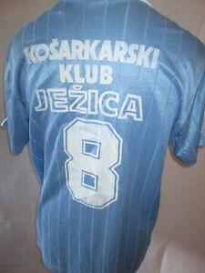 Kosarkarski-Match-Worn-1986-1997-Football-Shirt-with-COA-6264