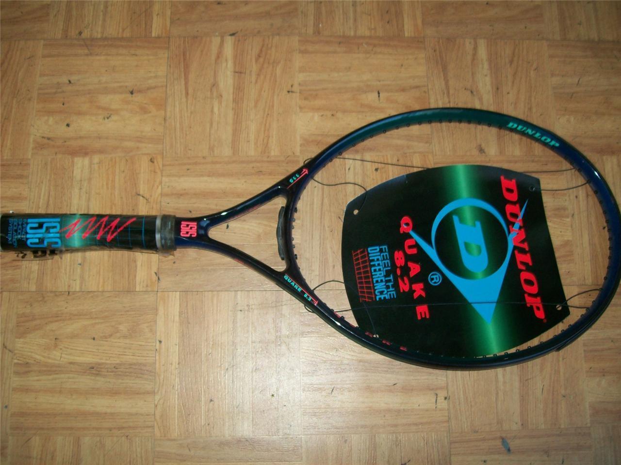 NEW Dunlop Quaker 8.2 Oversize 4 3 8 grip Tennis Racquet