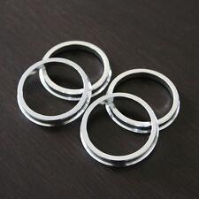 (4) Aluminum Hub Centric Rings - 70.3mm - 73.1mm (70.3-73)