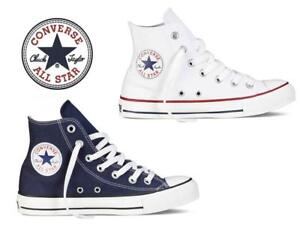 Détails sur Nouveau CONVERSE Chuck Taylor All Star Hi Canvas Chaussures UK 3 To 10 Baskets Sneakers afficher le titre d'origine